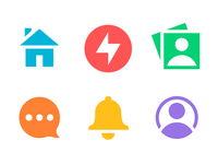 New QuizUp Navigation Icons