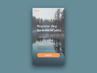 Dailyui 001 - Sign up form signupform appdesign dailyui