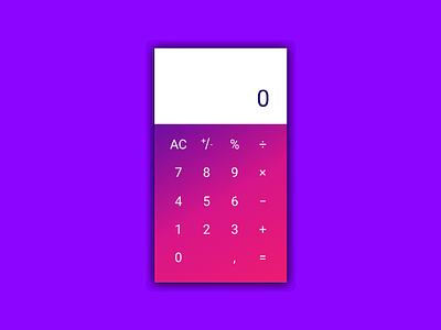 Dailyui 004 Calculator dailyui004 calculator appdesign dailyui