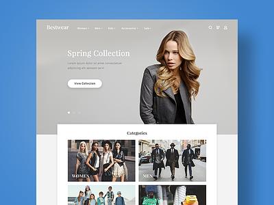 Bestwear Shop ux ui fashion webdesign web shop
