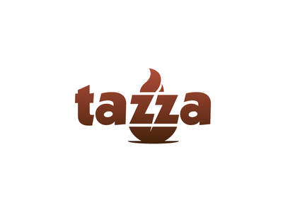 Tazza - Daily Logo Challenge #02 coffee coffee shop shop energy design graphics logo logo challenge logotype daily logo challenge cafe lounge
