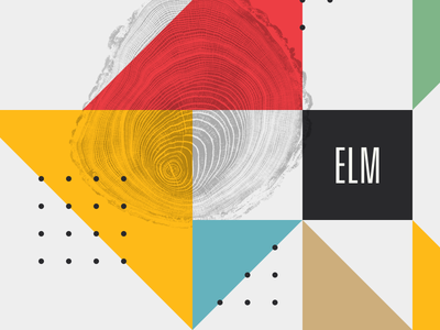 Elm organic geometric elm