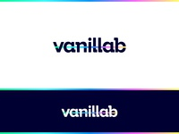 vanillab | Logo design sweet slab rainbow fun bold colorful start-up identity branding identity design identity logotype gradient logo design branding logo brand startup design
