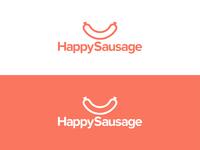 Happy Sausage | Logo design