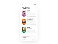 Music app | UI design