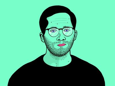 Self-portrait l Illustration
