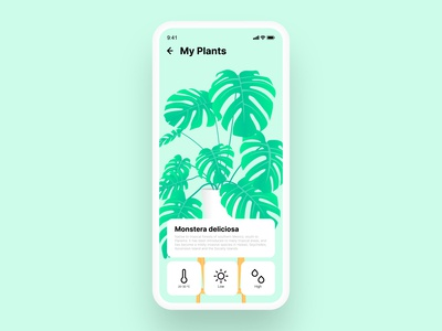 Plants | UI design