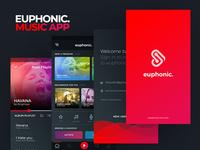 Euphonic Music App UI