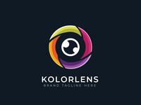 Eye Lens Logo