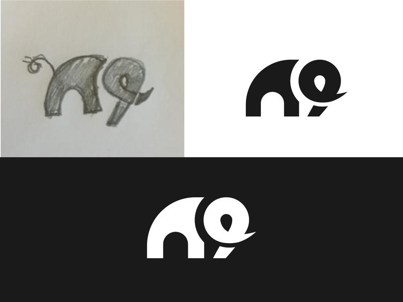 elephant design logo design icon illustration minimalism branding logo illustrator brand identity graphic design