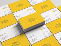WSA Business card design