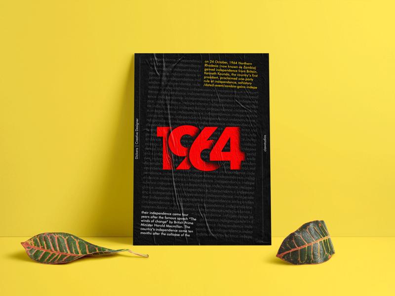 1964 graphic design adobe photoshop poster