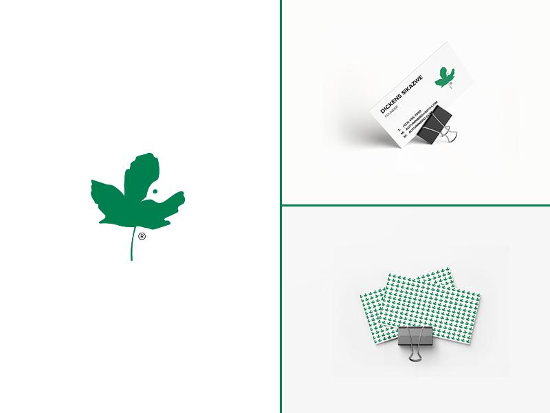 Autumn Bird autumn green branding bird minimalistic brand identity graphic design
