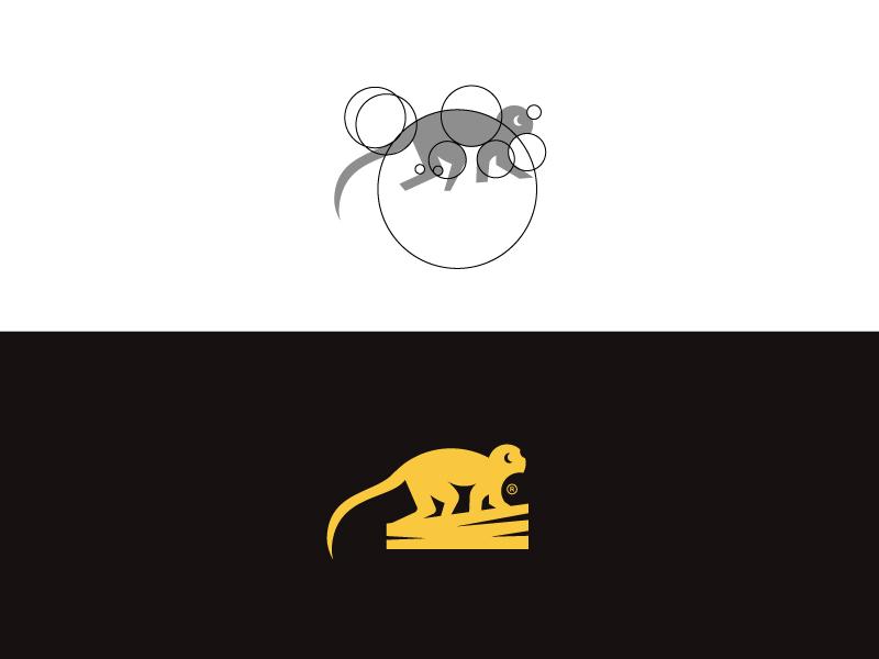Mankie branding negative space monogram minimalism design graphicart logo minimalistic illustrator brand identity graphic design