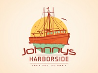 Johnnys Harborside T-Shirt artwork