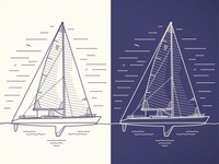 SC 70 Sailboat illustration