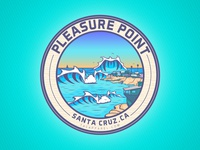 Pleasure Point Santa Cruz, California