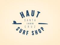 Haut Surfshop Logo (WIP)