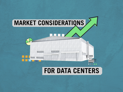 Data Centers Style Frame realestate infographic texture vector mixed media