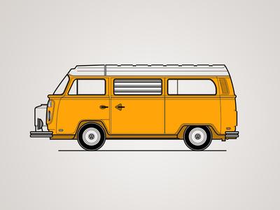 VW Type2 Westfalia Study