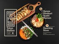 Tokyo Station Japanese Fast Food Restaurant