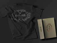 Exclusink T-shirt and packaging