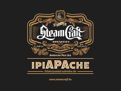 SteamCraft Brewery label
