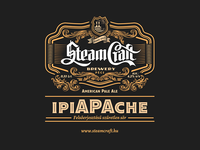 SteamCraft Brewery label