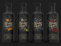 Young Spirit bottle design