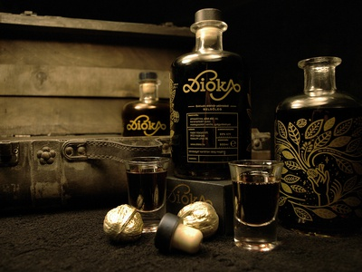 Dioka Wallnut liqueur
