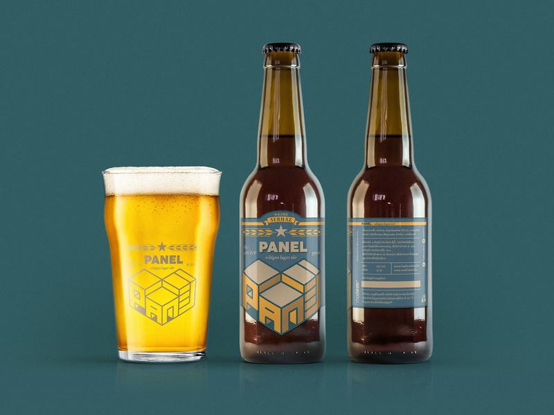 Panel craft beer concept labeldesign logotype craftbeer beer branding beer label packaging panel