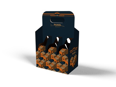 Panel beer packaging concept