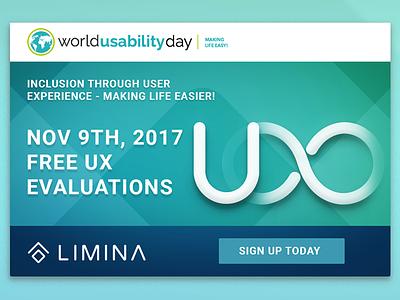 Limina WUD2017 inclusion ux world usability day wud