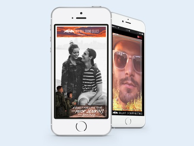 Snapchat Filters/Frames for Red Bull Concert Events social media photos filters snapchat