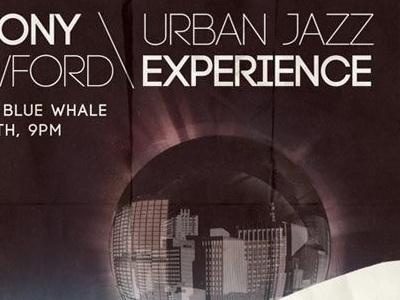 Jazz Concert Poster modern vintage poster jazz