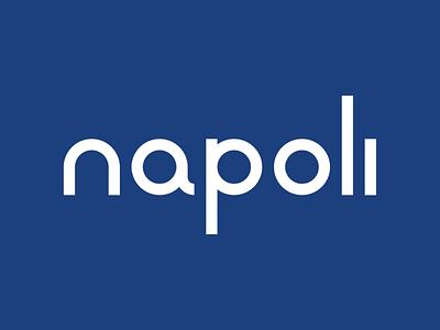 Napoli Typeface typeface serie a blue football napoli