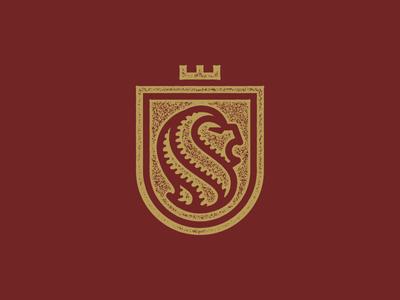 Lion Logo branding textured monoline illustration logo lion