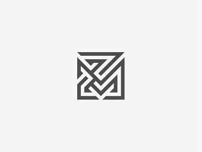 ZM Monogram vector logos graphic design design mark logo modern simple monogram zm