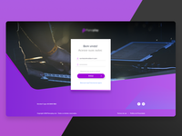 Piano Course Login Page