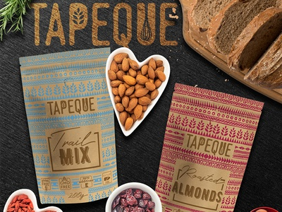 Packaging Design for healthy snacks
