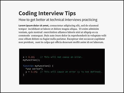 coming soon... open source typogaphy website code