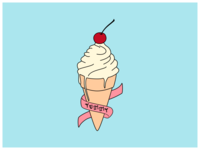 Ice Cream | Colored