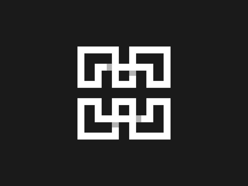 Letter H - Logo, lettermark, logotype, branding, icon design mark icon branding typography monogram logotype lettering minimalist simple logo logo