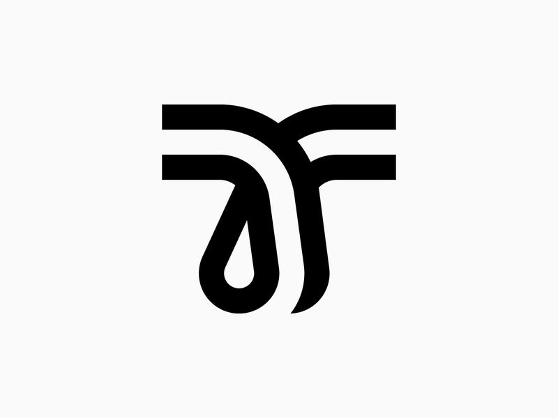 Letter T - Logo, Icon, Branding, Lettermark, Design minimal branding design symbol monogram logotype lettering mark icon logo