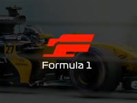 Formula 1 (F1) - Logo design, branding, font, icon monogram logo mark branding logotype modern logo modernism minimalist logo logos logo simple logo logo designer logo designs logo design f1 formula e formula one formula 1 formula1