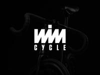 Wimcycle - Logo design, branding, icon, bicycle lettering illustration typography monogram logotype bicycles modernism minimalist logo simple logo design modern logos modern logo logo design logos logo bicycle logo bike logo bicycle shop bicycle