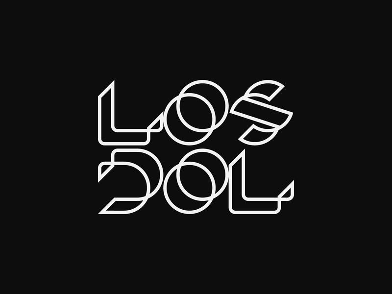 Los Dol - Logo design, logotype, branding, typography logos branding minimal minimalist logo simple design simple logo modern logo modernism logotype design logo logo design monogram lettering typography typeface logotype