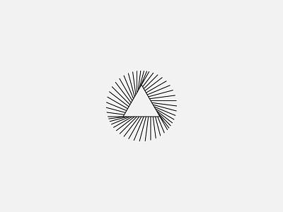 A circle and a triangle - Logo design, branding, minimalist icon mark branding clean logo clean design modern design minimalist logo modern logo simple lines simple logo logo design logos logo triangle triangle logo circle circle logo