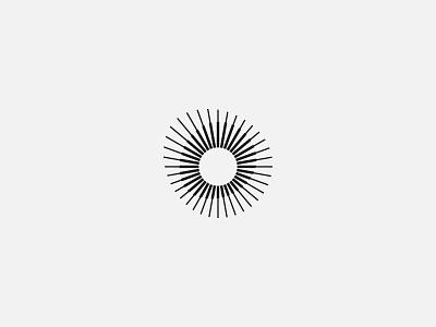 Light and a circle - Logo design, modern, minimalist modernism modern design icon illustration branding identity branding simple logo modern logo minimalist logo dynamic logo clean logo circle logo logo design logos logo