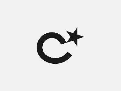 Letter C   Canopus star - Logo design, branding, logotype lettering icon logotype monogram logo monogram typography brand identity branding modern design clean logo modern logo minimalist logo simple logo logos logo design logo